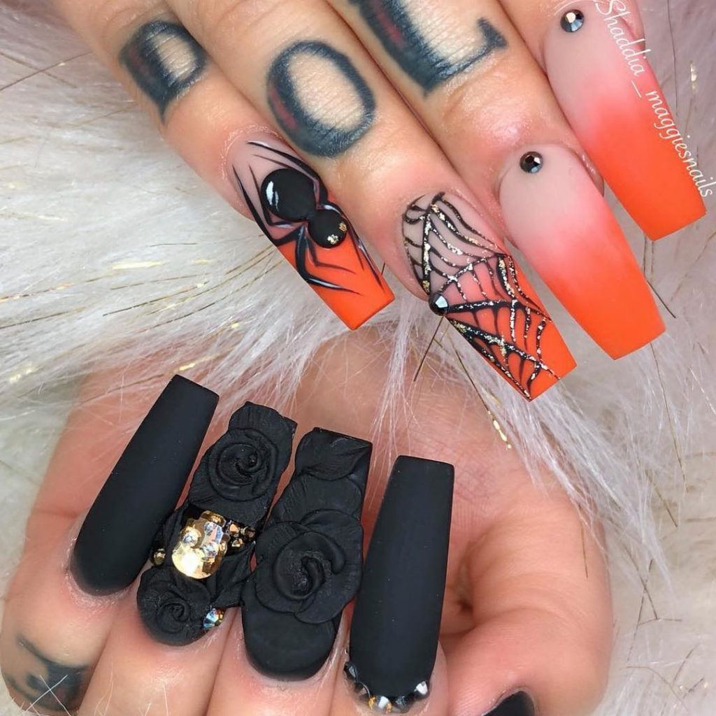 66 Best Halloween Nails Art Design You Should See Before ...