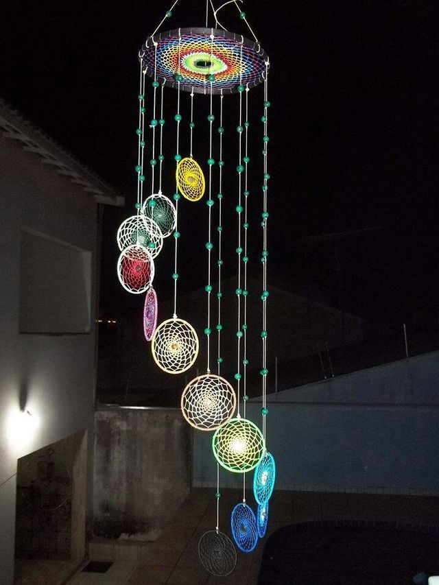 DIY Colorful Dream Catchers Decor Your room, Home decor boho style, how to make a dream catchers, DIY wall decor ideas