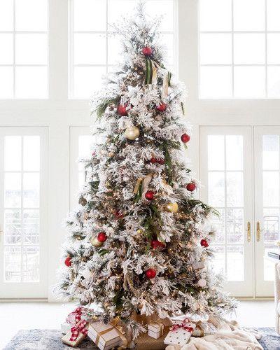 2019 Christmas Tree Decoration ideas, White Christmas Tree, christmas tree themes for kids, Christmas season