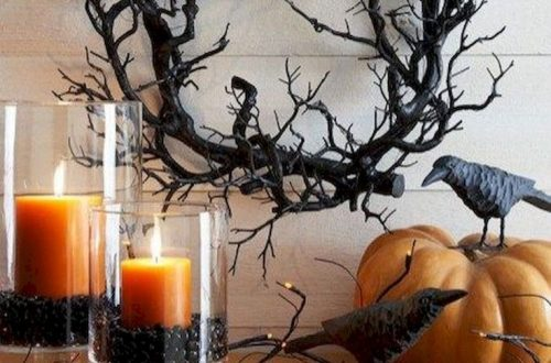 Stunning Halloween Table Setting Ideas, Best Scary Halloween Decorations Ideas, Classy Halloween Home Decor,Vintage Halloween Decorations