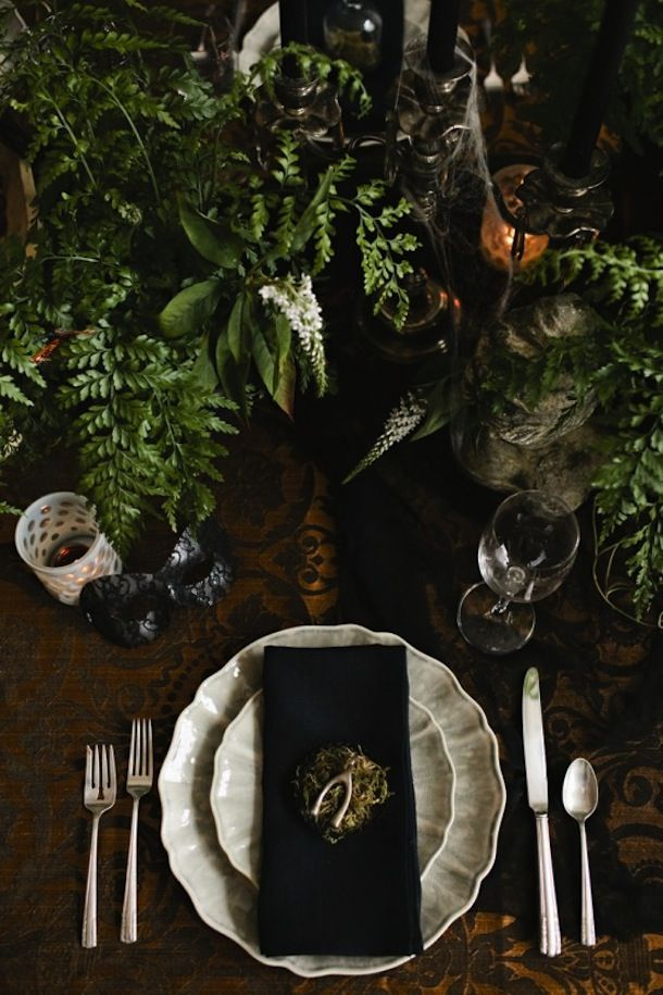 Stunning Halloween Table Setting Ideas, Best Scary Halloween Decorations Ideas, Classy Halloween Home Decor,Vintage Halloween Decorations