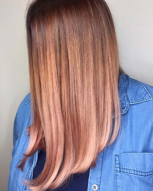 Winter hair color trends 2019, Strawberry Blonde Hair Color Ideas, 2019 haircut trends,