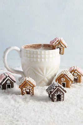 Christmas Cookies DIY, Small Ginger cookies, ginger cookies christmas, Small House ginger cookies for Winter, Cookies for Kids,