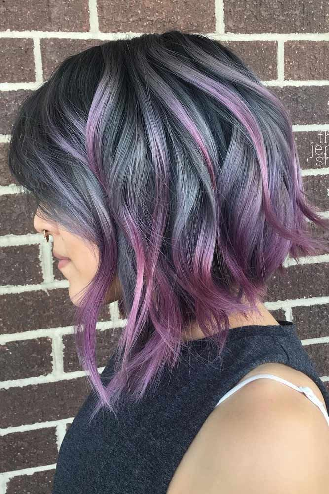 52 Short Balayage Ombre Hair Color Trends 2019