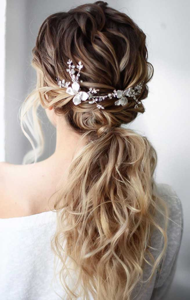 pony hairstyle, hair color trends 2019, long hairstyles ideas, wedding hairstyles, hair styles