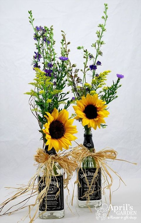 sunflowers are perfect for summer, sunflowers for weddings, sunflowers cozy rustic touch to your big day