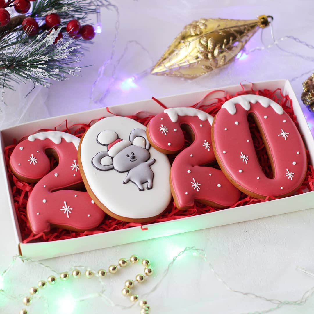 Christmas Cookies 2020 2020 Happy New Year Cookies to Your Beloved Person