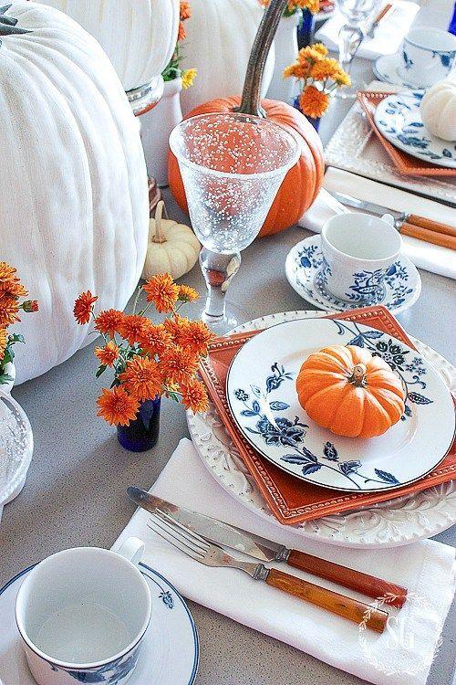 Thanksgiving natural table decor, flower arrangements, Thanksgiving Decor Ideas #thanksgiving