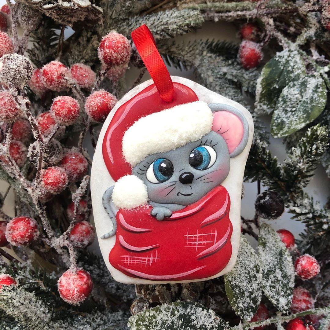 2020 cookies, Christmas Cookies DIY, Small Ginger cookies, ginger cookies christmas, happy New Year Cookies, Cookies for Kids, mouse animal cookies,
