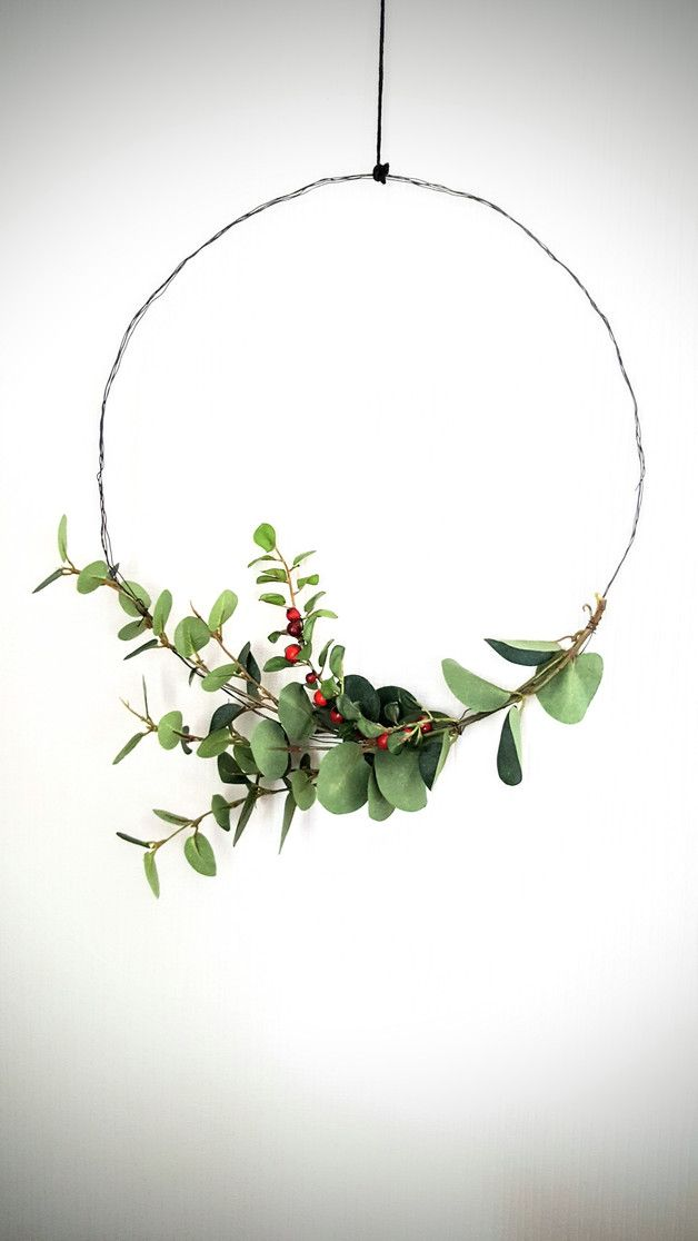 simple Christmas wreath, Some cheap ideas for Christmas wreath, Beautiful Christmas Wreath Ideas,