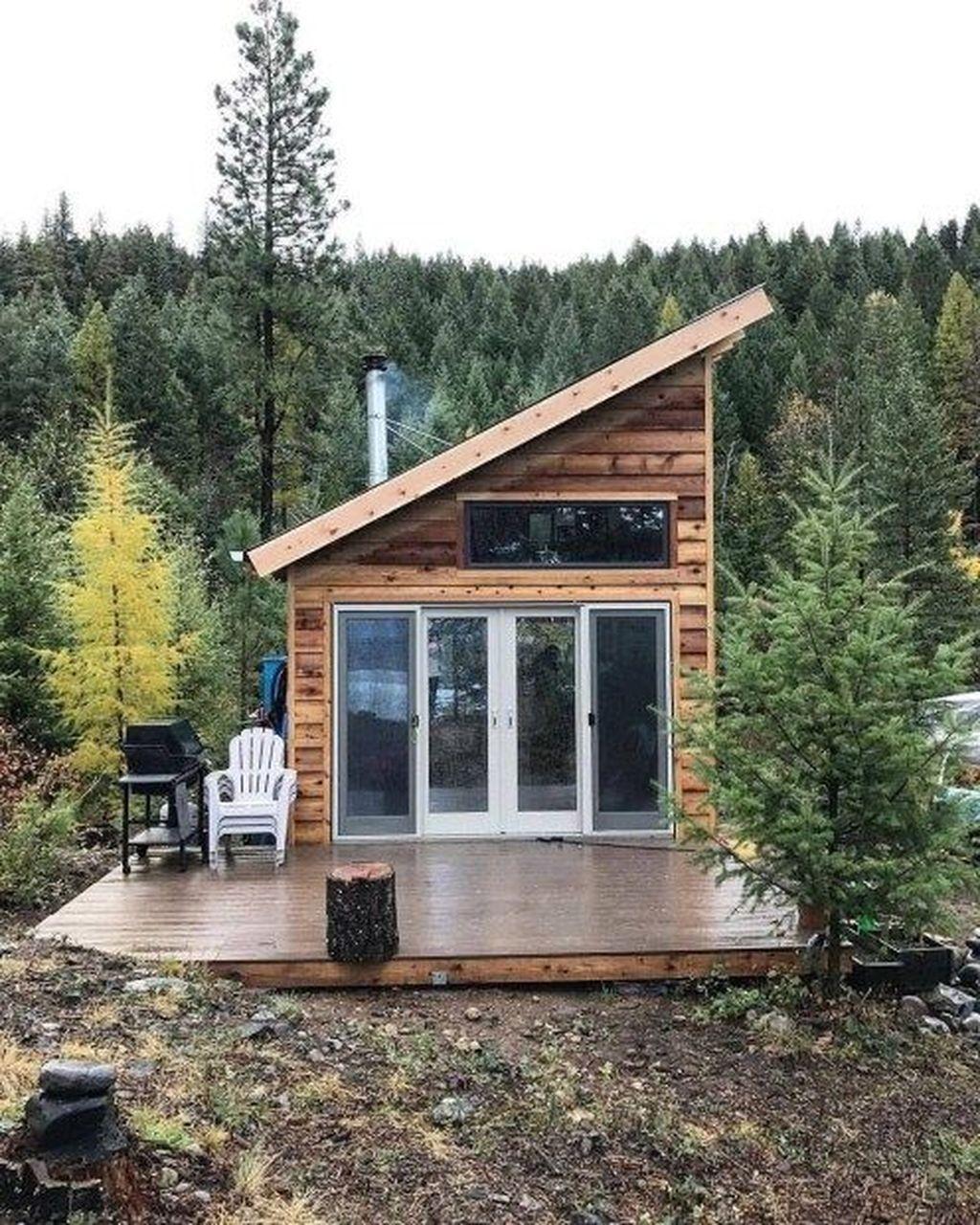 32 Amazing Cozy Tiny House Design Ideas