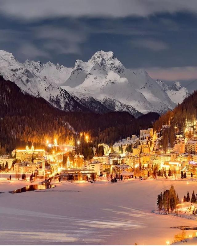 Switzerland in the Snow is As Beautiful As a Fairy Tale